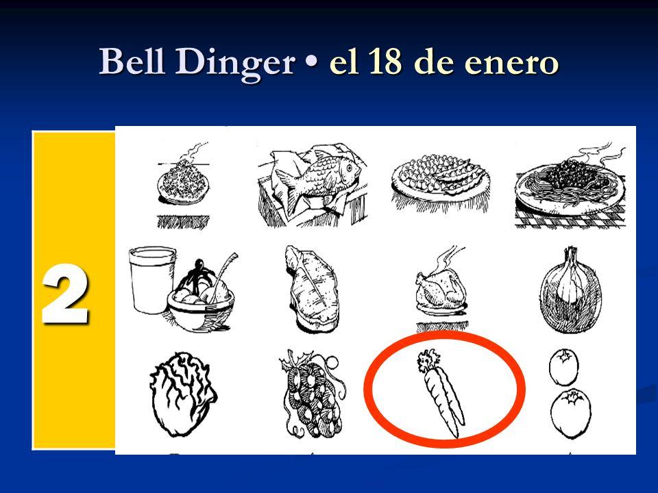 Bell Dinger el 18 de enero 2 el pollel pollel pollel poll el pesc ado el arroz