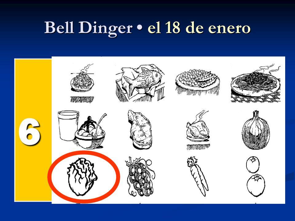Bell Dinger el 18 de enero 6 el pollel pollel pollel poll el pesc ado el arroz