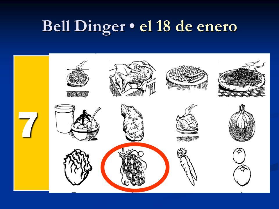 Bell Dinger el 18 de enero 7 el pollel pollel pollel poll el pesc ado el arroz