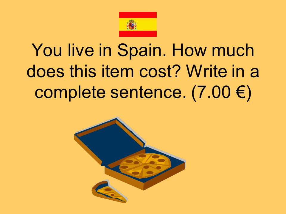 You live in Argentina. How much does this item cost? Write in a complete sentence. (12.00 )