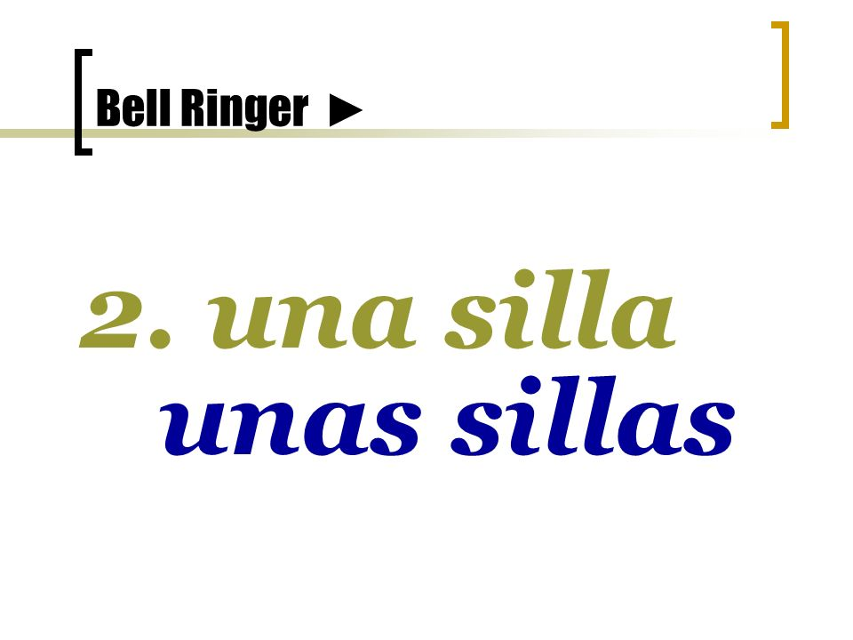 Bell Ringer 1. la chica las chicas