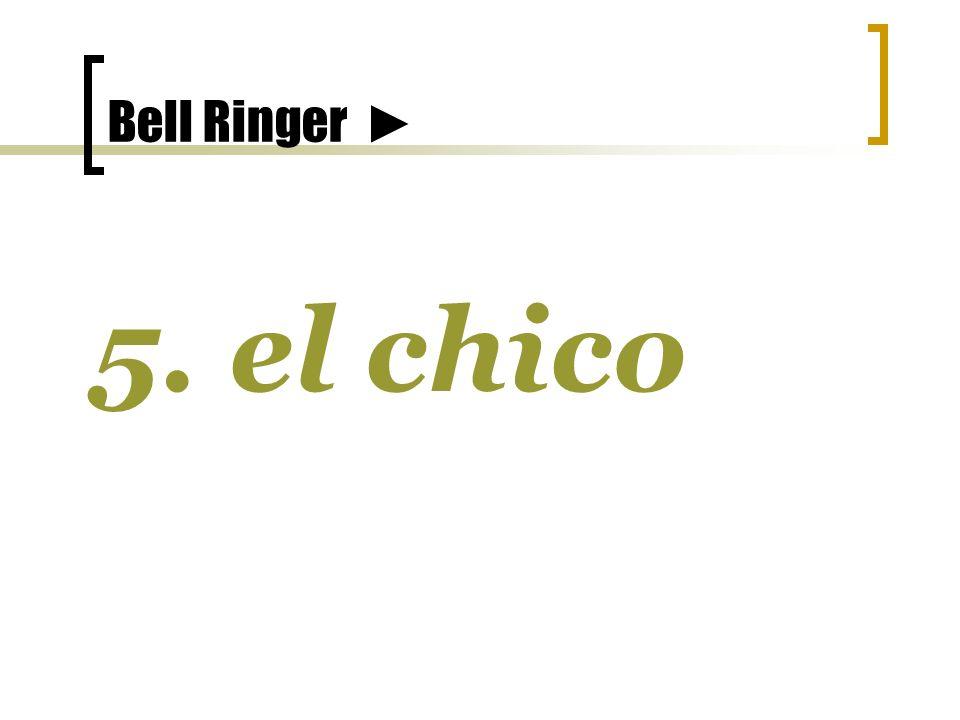 Bell Ringer 5. el chico