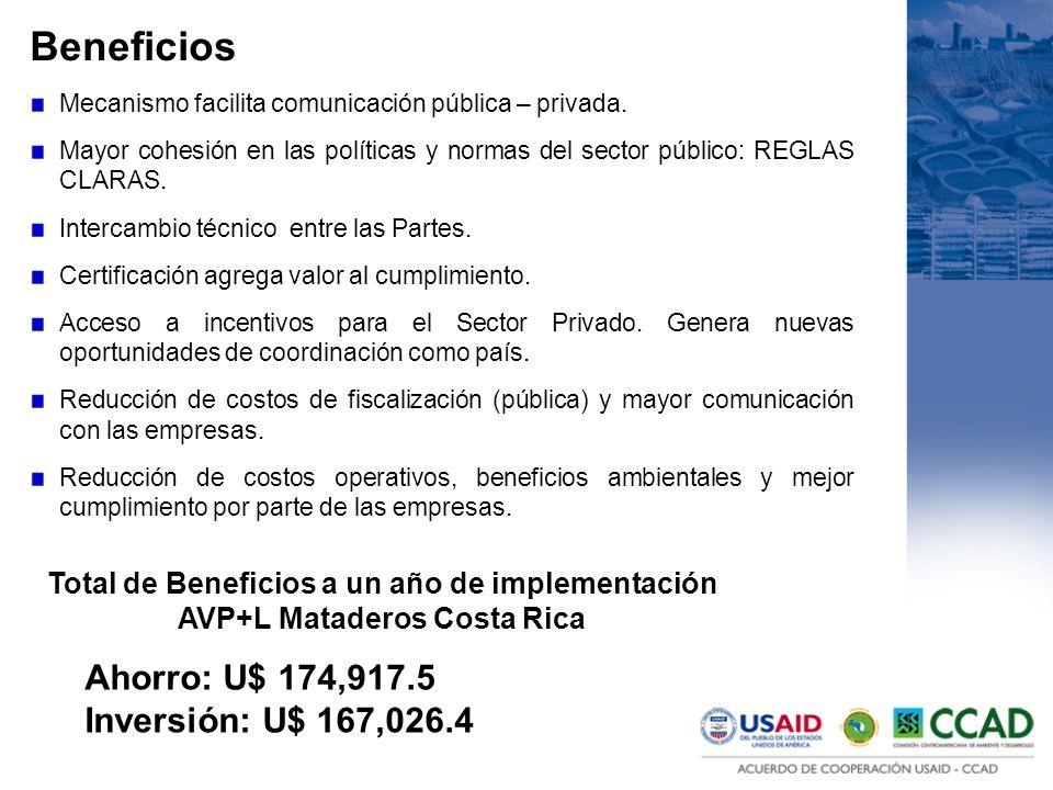 Beneficios Mecanismo facilita comunicación pública – privada. Mayor cohesión en las políticas y normas del sector público: REGLAS CLARAS. Intercambio