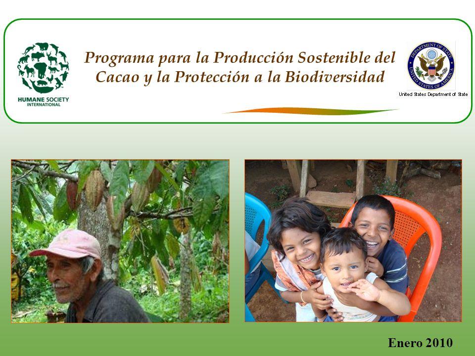 Enero 2010 Programa para la Producción Sostenible del Cacao y la Protección a la Biodiversidad