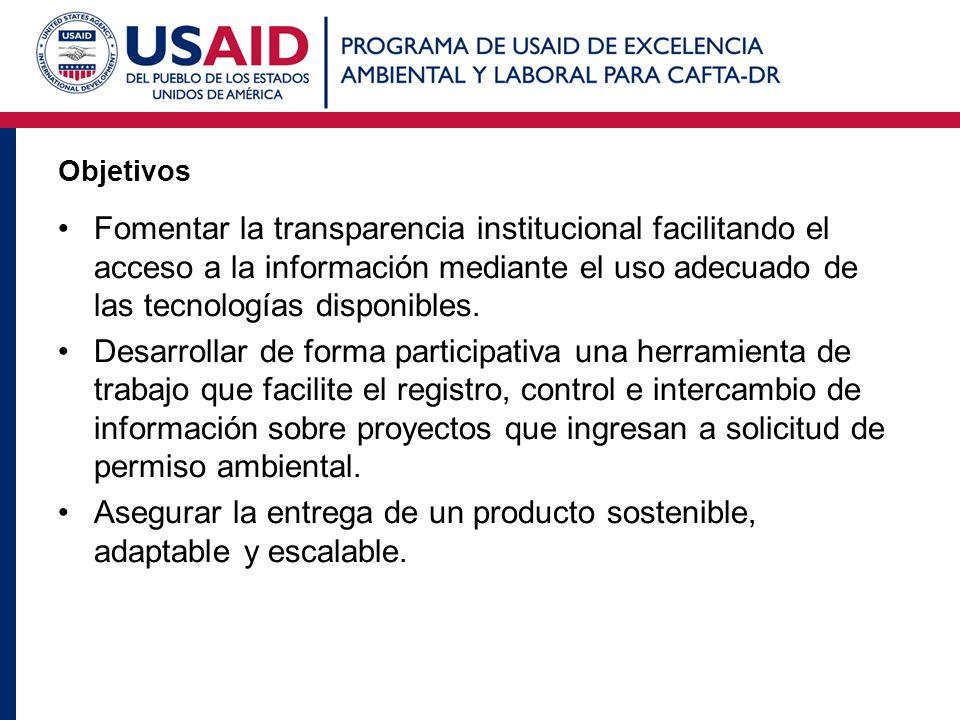 Objetivos Fomentar la transparencia institucional facilitando el acceso a la información mediante el uso adecuado de las tecnologías disponibles. Desa