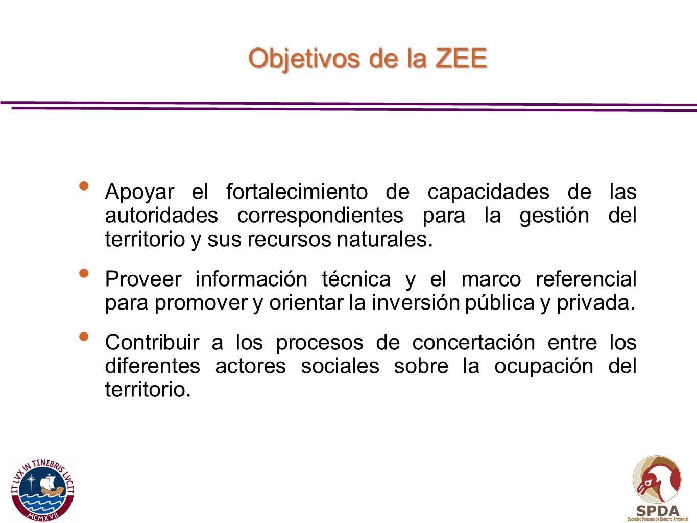 Apoyar el fortalecimiento de capacidades de las autoridades correspondientes para la gestión del territorio y sus recursos naturales. Proveer informac