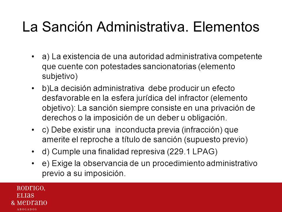 Clases de sanciones Por su finalidad: Sanciones de autoprotección: Producto de la actividad de la Administración dirigida a la tutela de su organización y orden interno.