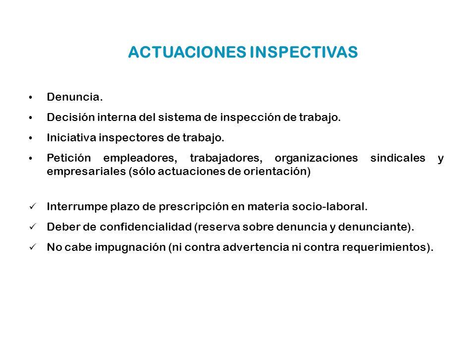 Área LaboralCliente: APESEG Denuncia. Decisión interna del sistema de inspección de trabajo. Iniciativa inspectores de trabajo. Petición empleadores,