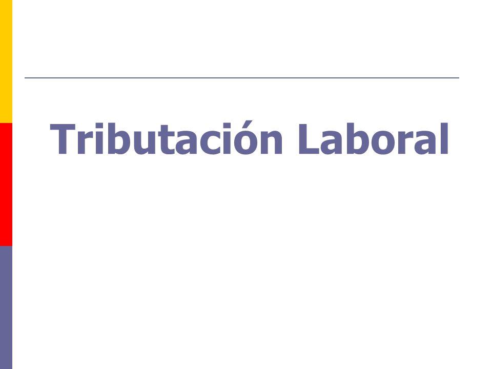 Tributación Laboral