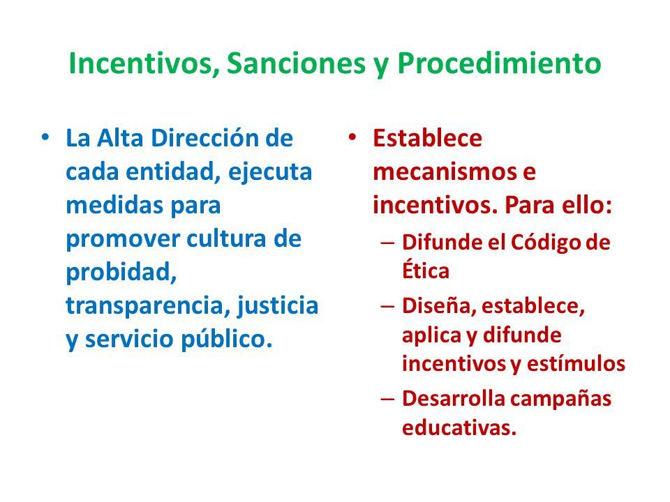 Prohibiciones Éticas (8º) Mantener intereses de conflicto Obtener ventajas indebidas Realizar actividades de proselitismo político Hacer mal uso del i