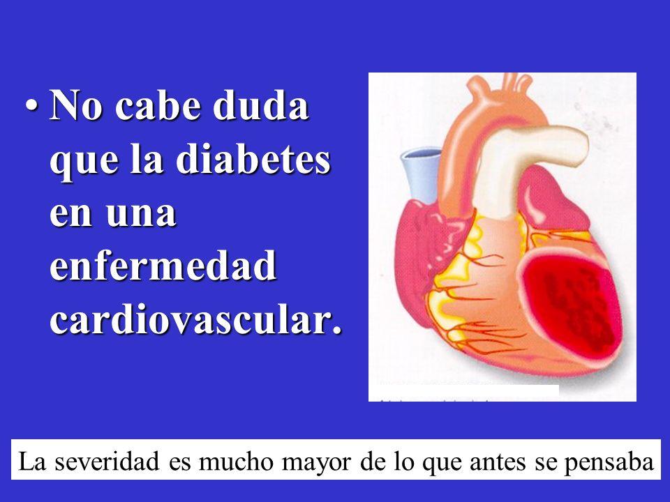 Diabetes Mellitus en los EUA: Impacto de la enfermedad sobre la salud Diabetes Ceguera* Insuficiencia Renal * Amputación* Expectativa de vida de 5 a 1