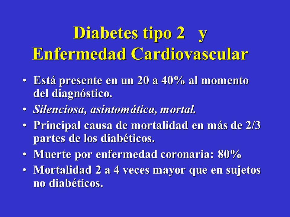 No cabe duda que la diabetes en una enfermedad cardiovascular.No cabe duda que la diabetes en una enfermedad cardiovascular. La severidad es mucho may