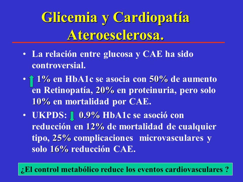 La Diabetes Mellitus es una enfermedad vascular agresiva La enfermedad macrovascular es como una bomba de tiempo cuyo reloj empieza a funcionar silenc