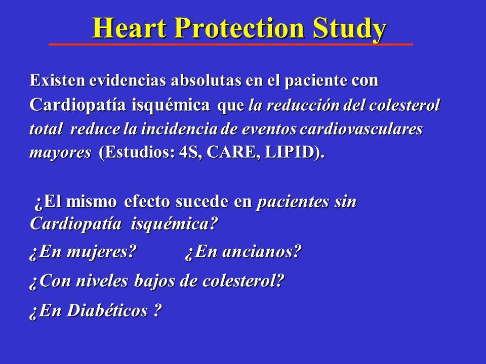 ¿ Es posible el manejo con Estatinas para prevención primaria en el paciente diabético? Hacen falta estudios de su efectividad en sujetos diabéticos s