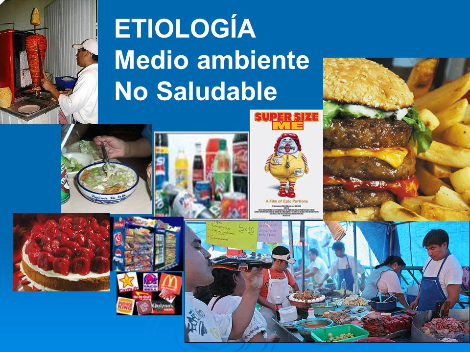 ETIOLOGÍA WHO/FAO.Diet nutrition and the prevention of chronic diseases.