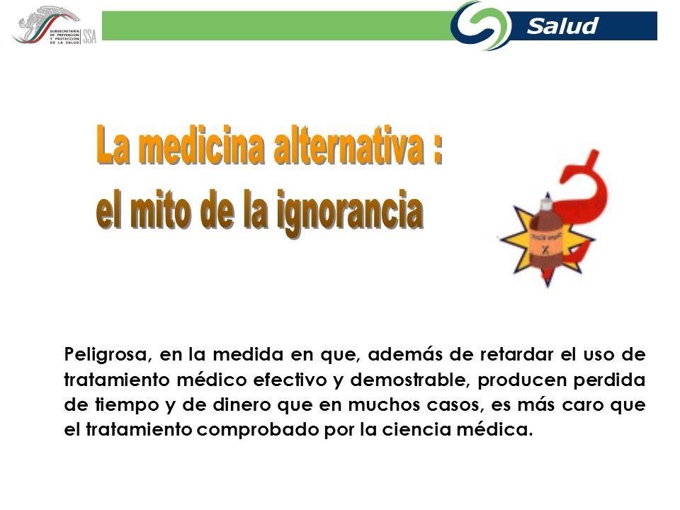 Tratamiento farmacológico Evite la automedicación, no exponga su vida.