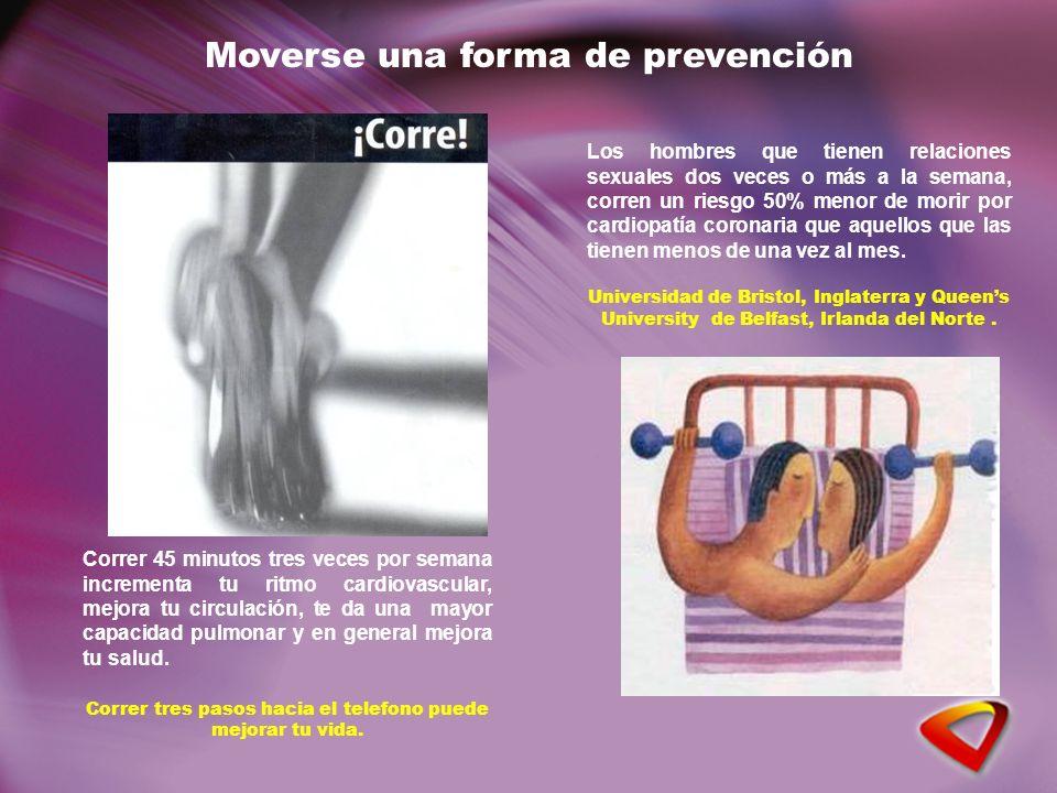 Correr 45 minutos tres veces por semana incrementa tu ritmo cardiovascular, mejora tu circulación, te da una mayor capacidad pulmonar y en general mejora tu salud.