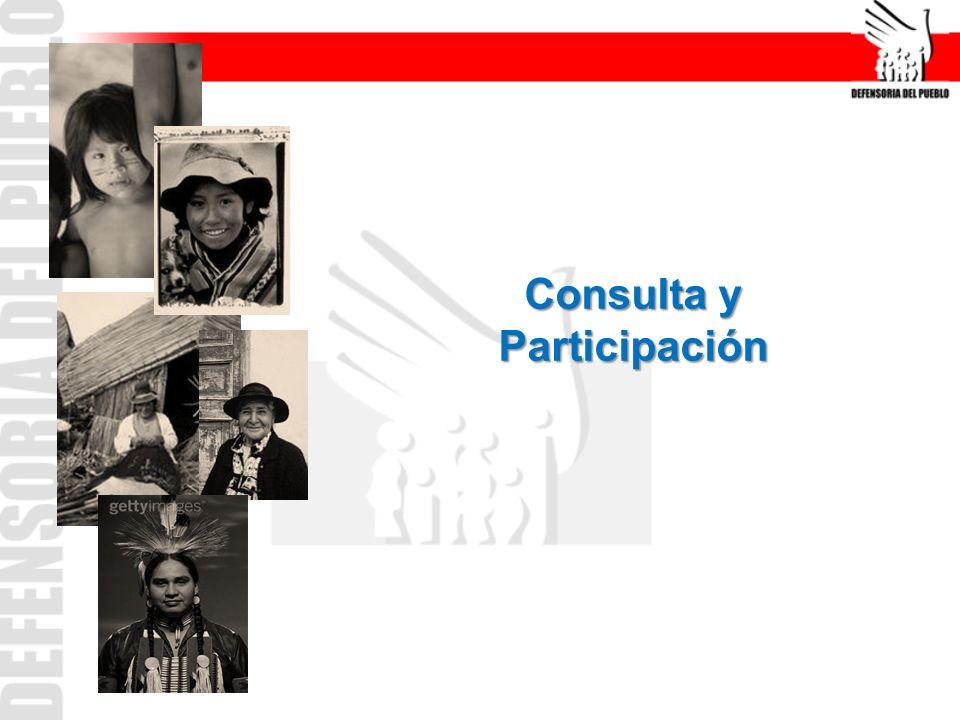 La Consulta es un derecho de los PPII y un deber del Estado.