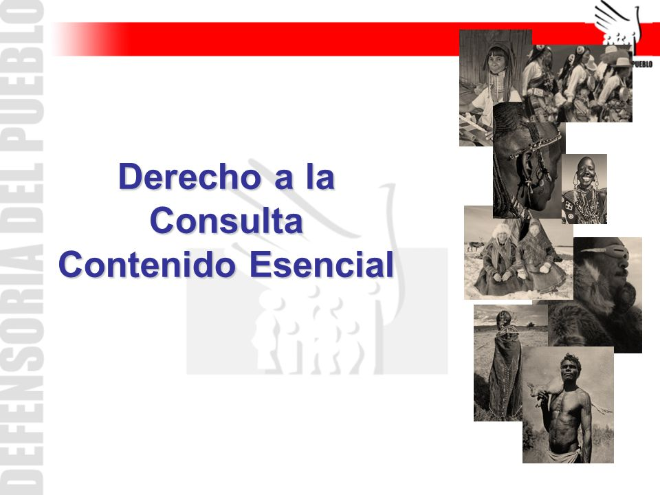 Derecho a la Consulta Contenido Esencial