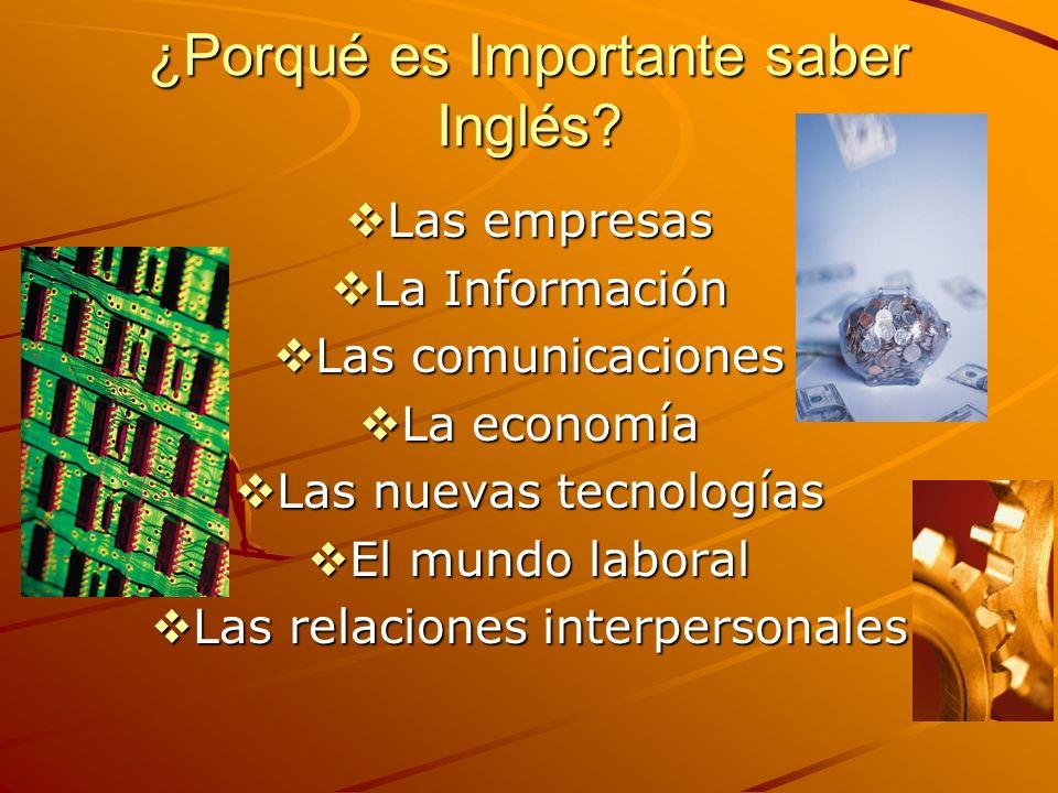 Consejos para aprender Inglés Comprenda la importancia de este idioma.