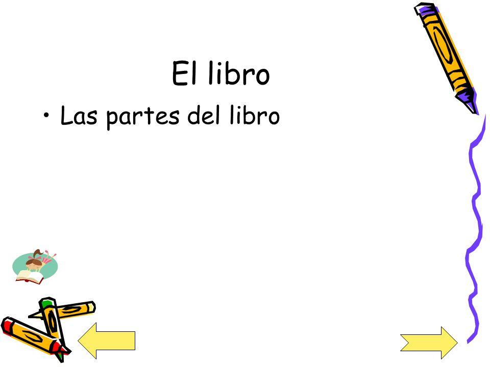 El libro Las partes del libro