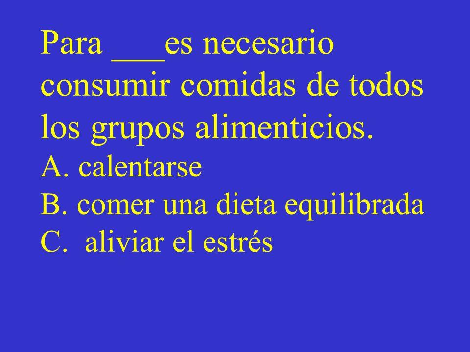 Vocabulario Escoger a, b, c Vocabulario ¿Cómo se dice en español? Expresa la voz pasiva en vez de la voz activa Los tiempos perfectos ¿Cierto o Falso?