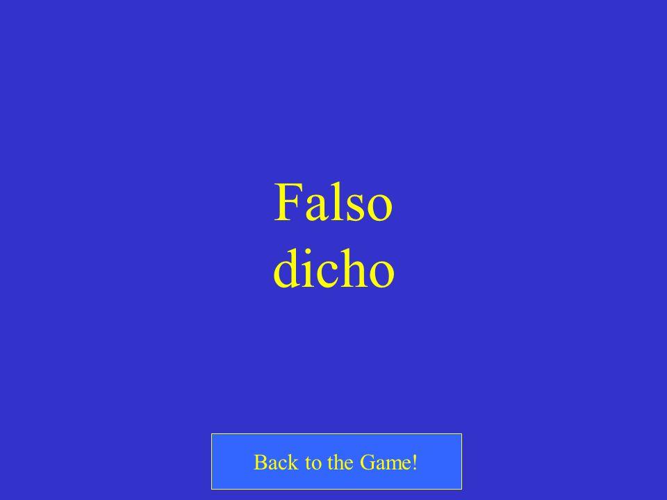 ¿Cierto o Falso? I have not yet told them my name. Todavía no les he decido mi nombre.