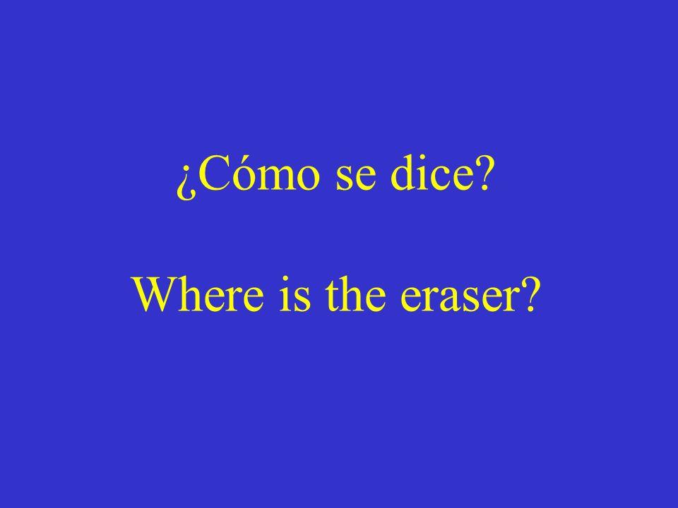 Preguntando la ubicación de cosas Preguntando la ubicación de personas y de lugares Diciendo la ubicación de lugares Diciendo la ubicación de cosas Di