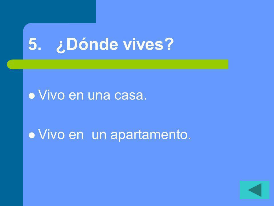15.¿Cuándo es tu clase de español... por la mañana o por la tarde.