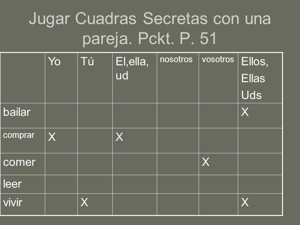 III.¿Cómo se dice…. Escribe las frases en español.