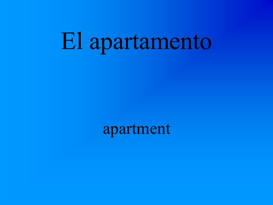 El edificio de apartamentos apartment building