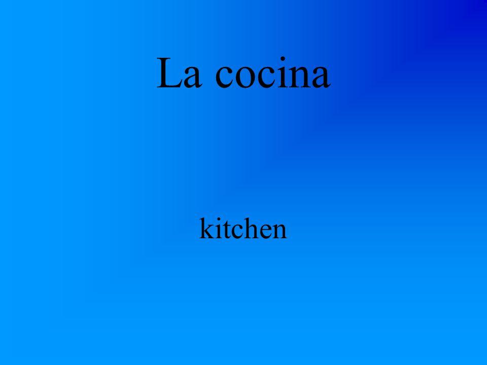 La cocina kitchen
