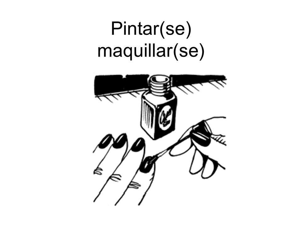 Pintar(se) maquillar(se)