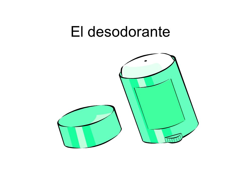 El desodorante