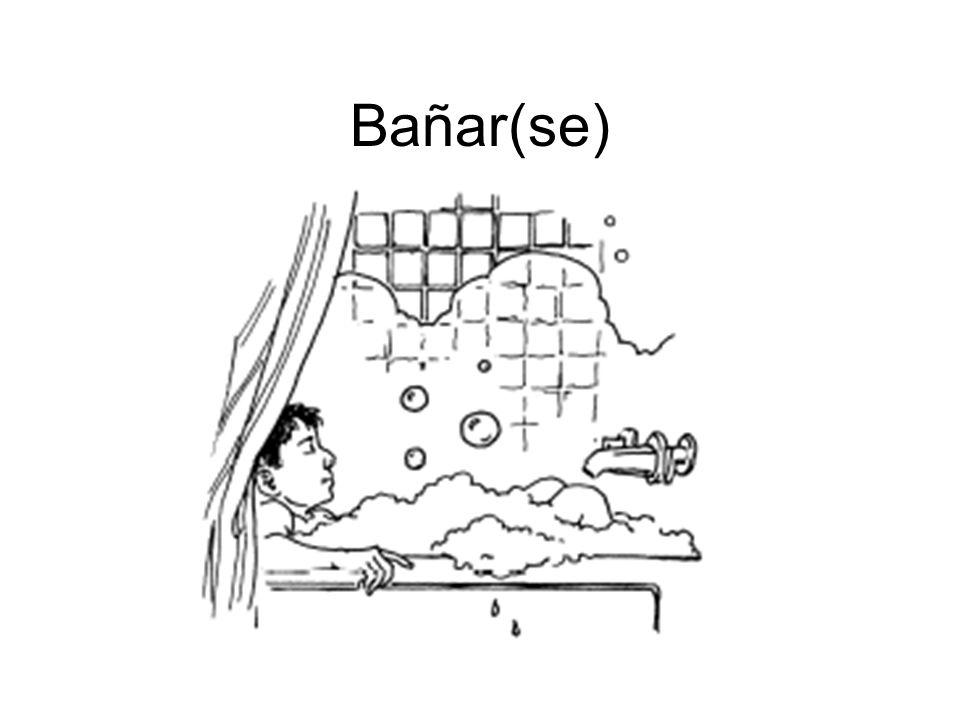 Bañar(se)