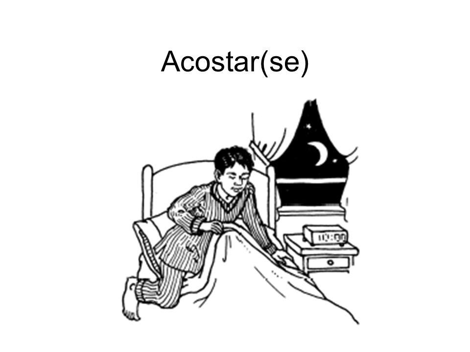Acostar(se)