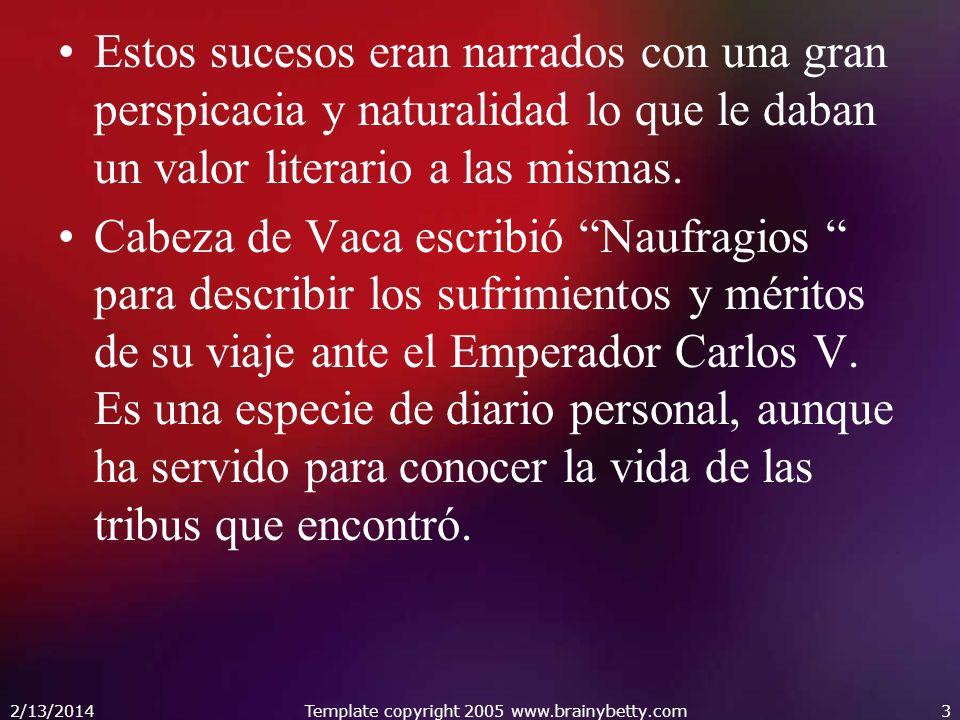 Texto descriptivo que cuenta las experiencias y dificultades de los conquistadores españoles en sus primeras misiones en América.