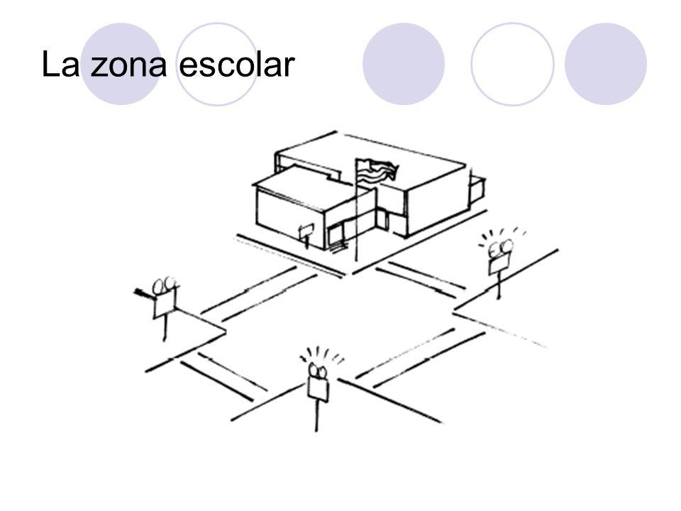 La zona escolar