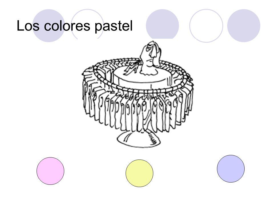 Los colores pastel
