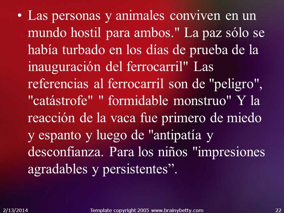 Las personas y animales conviven en un mundo hostil para ambos.
