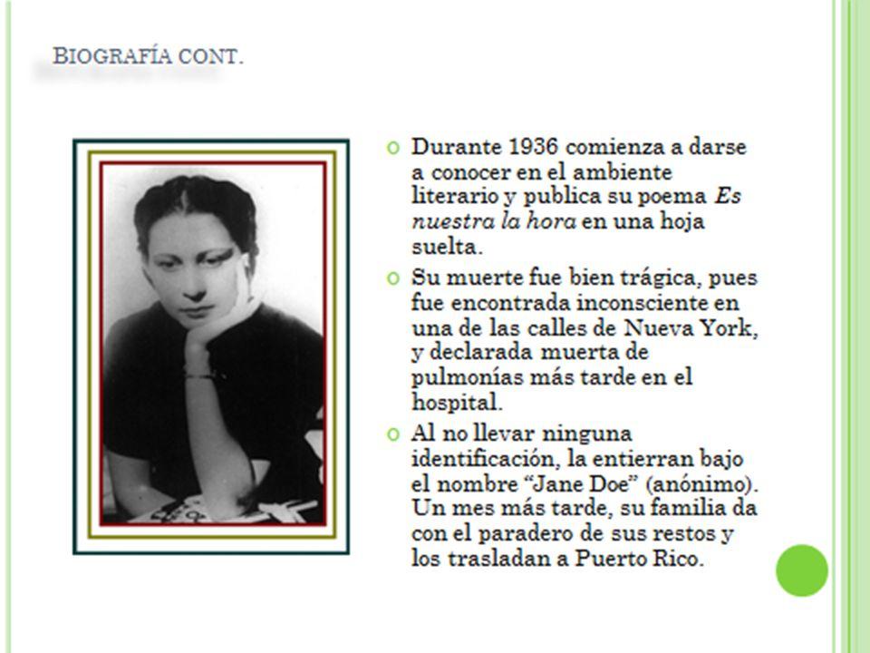 Al no llevar ninguna identificación, la entierran bajo el nombre Jane Doe (anónimo). Un mes más tarde, su familia da con el paradero de sus restos y l