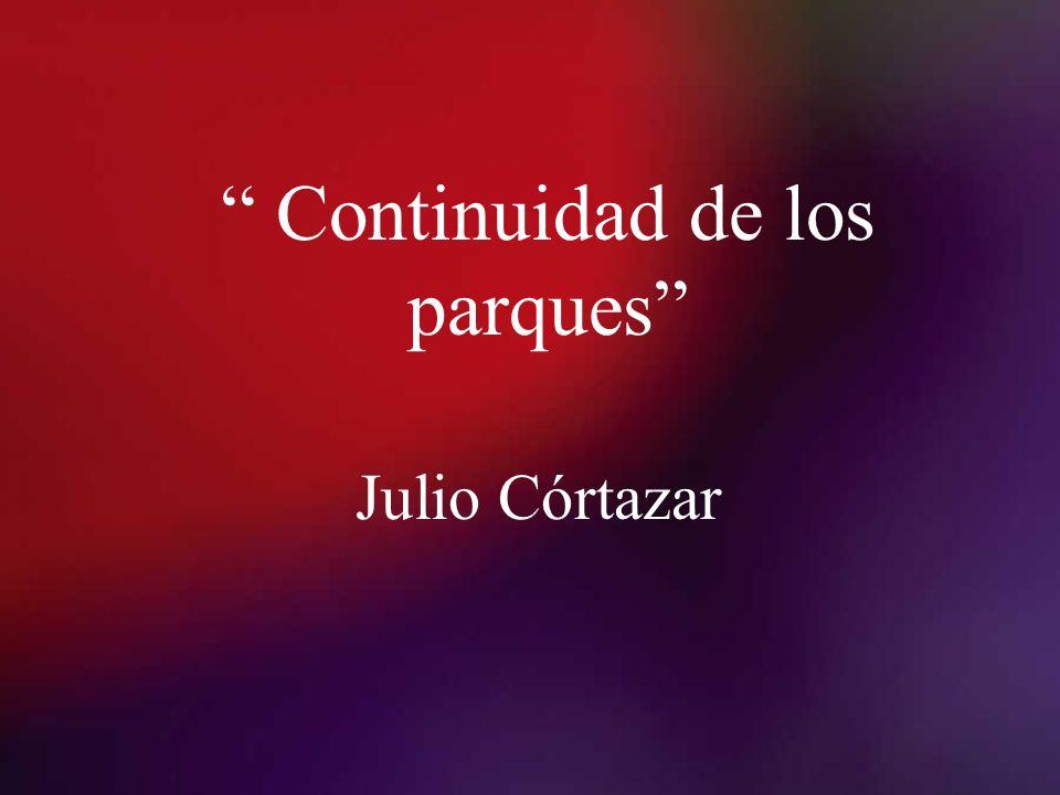 Continuidad de los parques Julio Córtazar