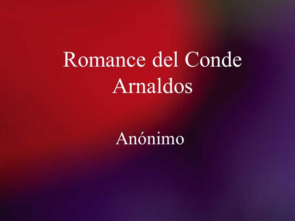Romance del Conde Arnaldos Anónimo