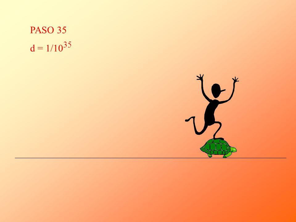 PASO 35 d = 1/10 35