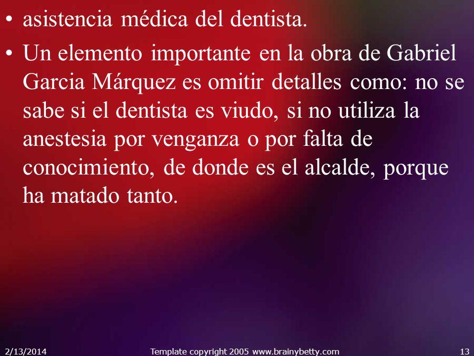 asistencia médica del dentista.