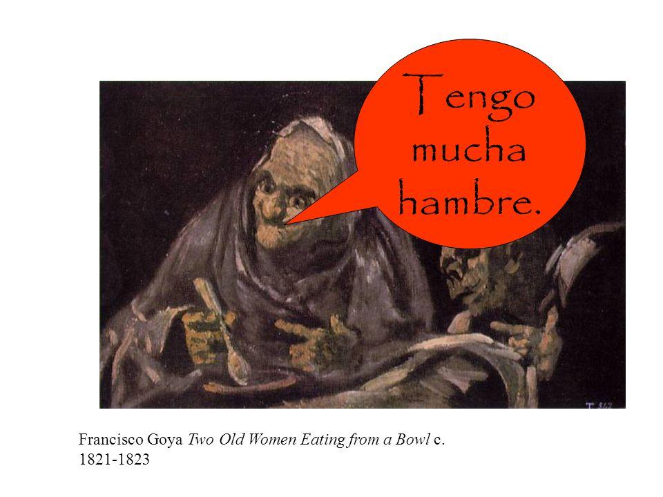Ellos tienen sed. Velázquez The Waterseller of Seville c. 1623