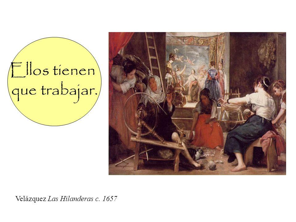 Ella tiene ganas de bailar. Velázquez Infanta Margarita c. 1656