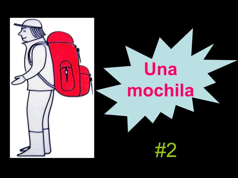 Una mochila #2
