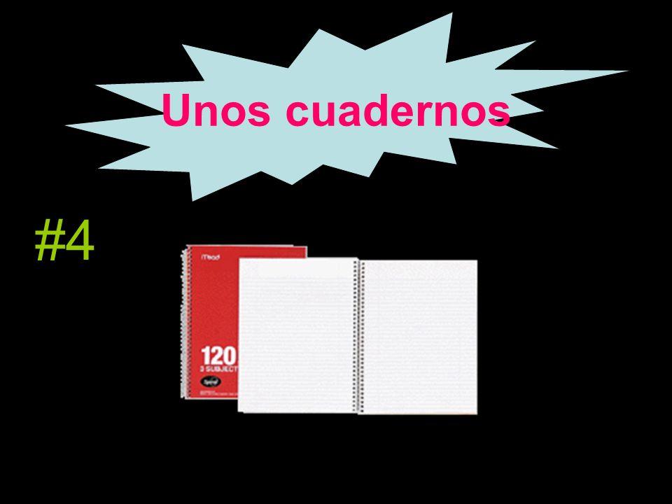 Unos cuadernos #4