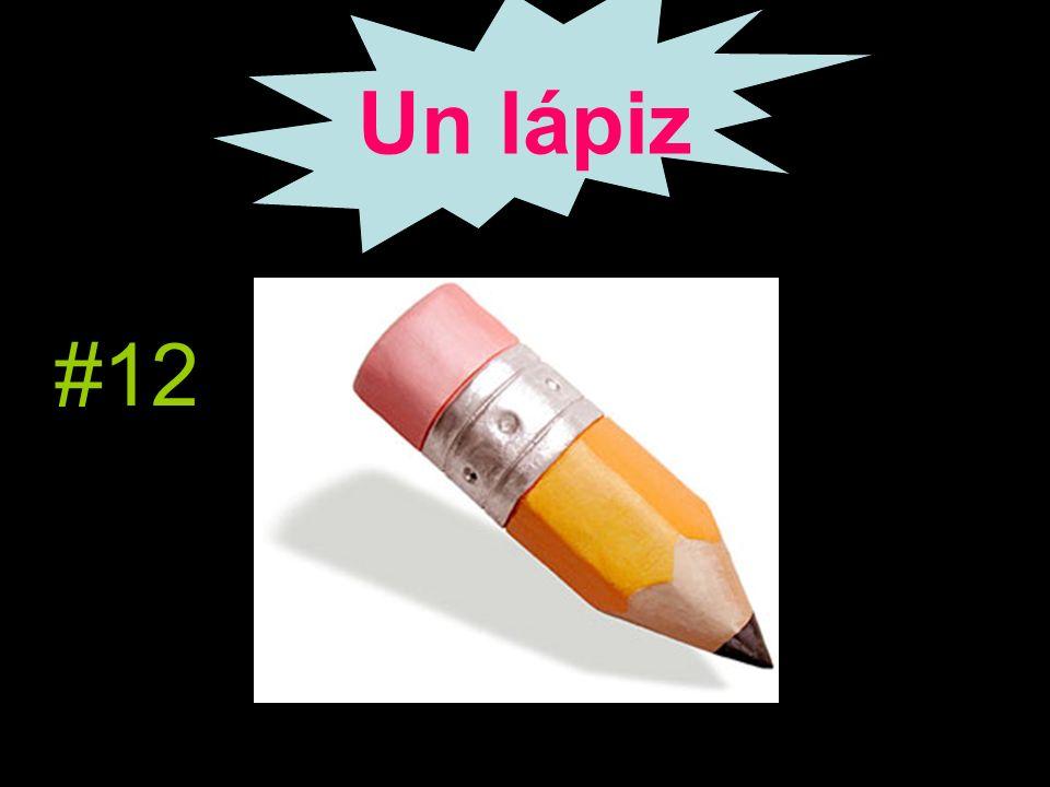 Un lápiz #12